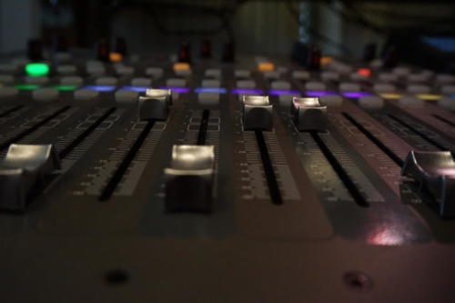 Mixer im Studio 1