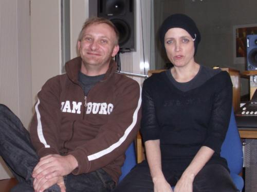 David Holy und Anna Thalbach