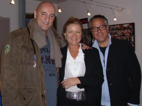 Ingo Albrecht, Irina von Bentheim und Charles Rettinghaus
